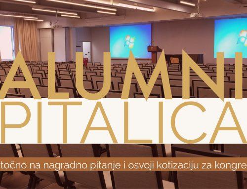 Alumni pitalica: Osvoji kotizaciju za Opatiju 2018.