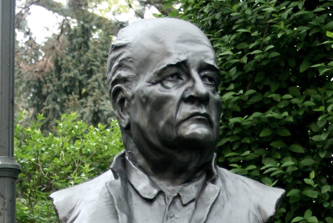 Bista prof. emer. Predraga Kerosa na Zdravstvenom veleučilištu u Mlinarskoj 38 (FOTO: Solomon Savage, Vudrag / Wikimedia Commons)
