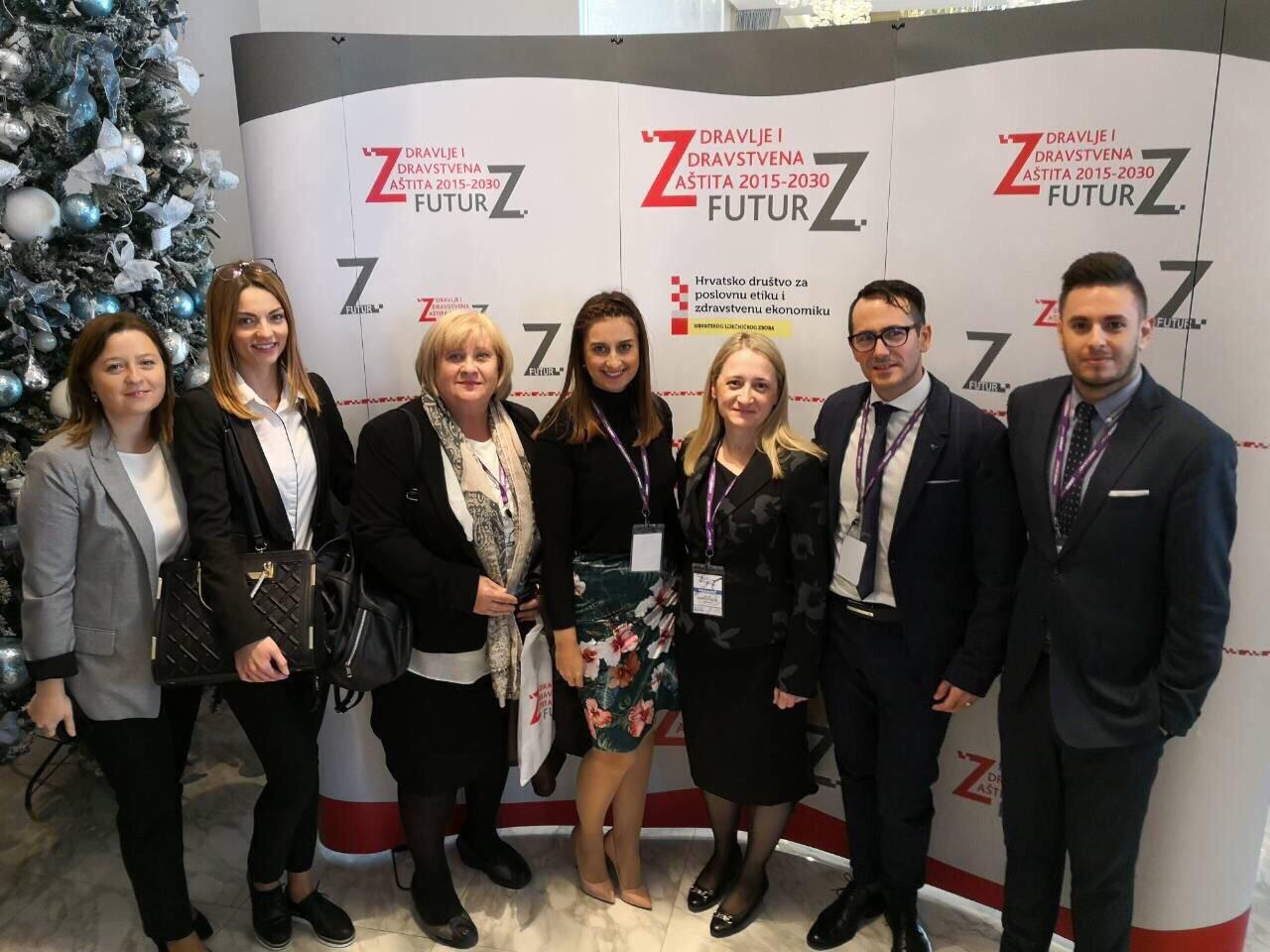 Futur-Z 2018. Martina Smrekar, Biljana Kurtović, Marija Brdarević, Anamarija Hošnjak, Snježana Čukljek, Adriano Friganović, Boris Ilić (Foto: AKZVU)