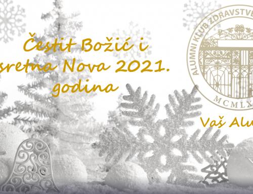Blagdanska čestitka Alumni kluba Zdravstvenog veleučilišta u Zagrebu
